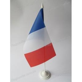 флаг Франции на подставке
