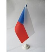флаг Чехии на подставке