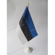 прапор Естонії на підставці