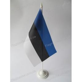 флаг Эстонии на подставке