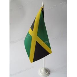прапор Ямайки на підставці
