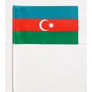 флаг Азербайджана на палочке
