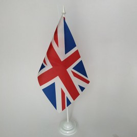 флаг Великобритании на подставке