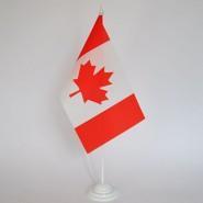 Прапор Канади на підставці