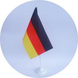 флаг Германии на подставке