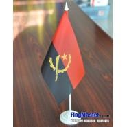 флаг Анголы на подставке