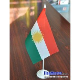 флаг Иракский Курдистан на подставке