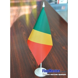 флаг Конго на подставке