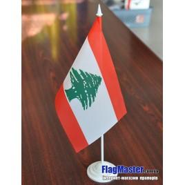 флаг Ливана на подставке