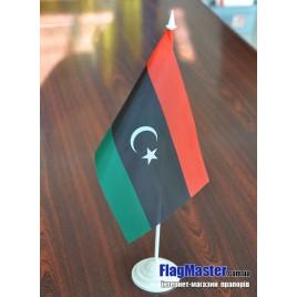 флаг Ливии на подставке