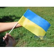 Прапорці України на паличці