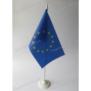 прапор Євросоюза на подставці