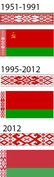 Орнамент на флаге Беларуси